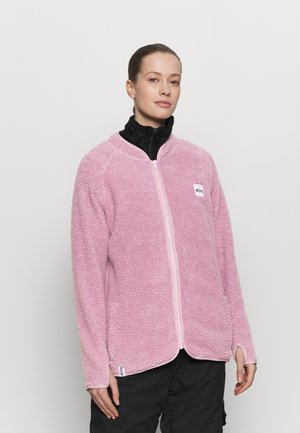 REDWOOD SHERPA JACKET - Kurtka z polaru - dusty pink