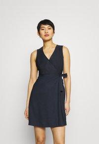 NAF NAF - LAKAWAI - Shift dress - bleu marine - 0