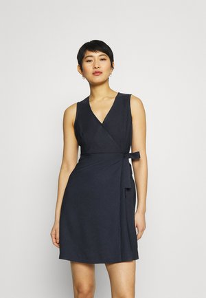 LAKAWAI - Shift dress - bleu marine