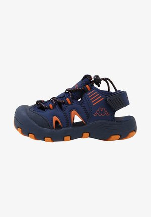 TAKEN - Outdoorsandalen - navy/orange