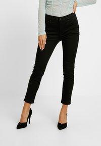 J.CREW PETITE - LOOKOUT HIGH RISE NEW - Jeans Skinny Fit - true black - 0