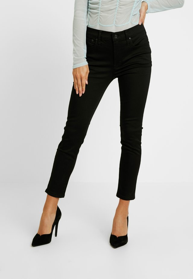 LOOKOUT HIGH RISE NEW - Skinny-Farkut - true black