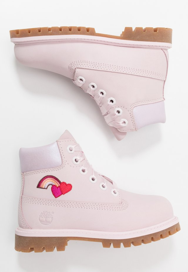 6 IN PREMIUM WP BOOT - Botines con cordones - light pink
