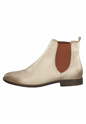 Kotníkové boty - ivory
