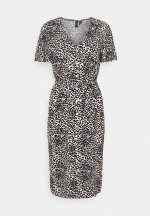 VMSIMPLY EASY CALF SHIRTDRESS - Maxi dress - birch