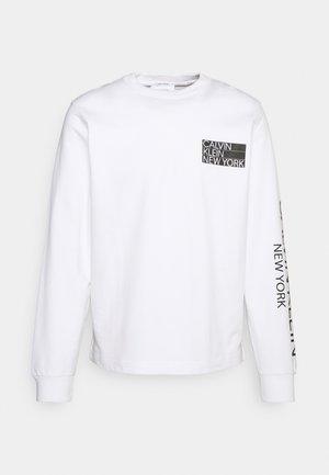 LIGHT WEIGHT LOGO - Sweatshirt - bright white