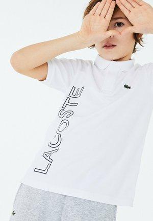 Polo shirt - blanc / bleu marine
