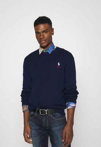 LONG SLEEVE - Maglione - cruise navy