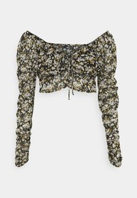 ISSY - Long sleeved top - black/multi coloured
