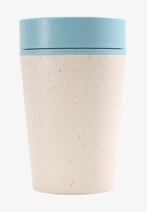 KAFFEEBECHER TO GO MIT DECKEL - 227ml - Övriga accessoarer - weiß / blau