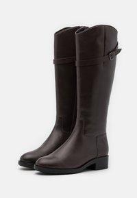 Högl - Vysoká obuv - nougat - 3