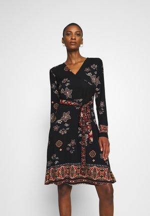 SINGAPUR - Jersey dress - black
