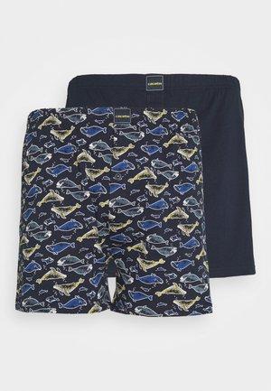 BOXERSHORTS 2 PACK - Boxer shorts - blue