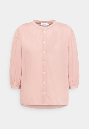 3/4 CHEESECLOTH - Blouse - muted pink