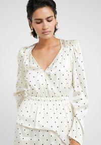 DESIGNERS REMIX - FALLON DRESS - Shift dress - white/black - 4