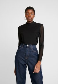 Tommy Jeans - Long sleeved top - black - 0