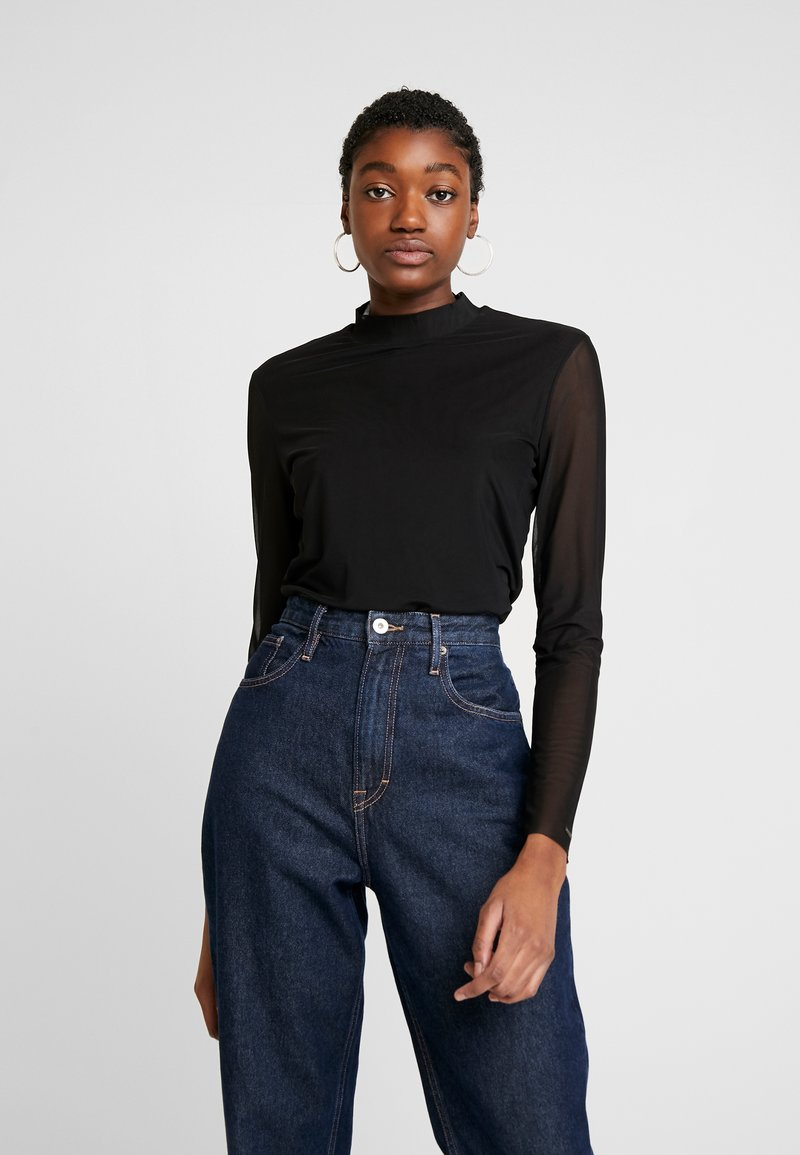 Tommy Jeans - Long sleeved top - black