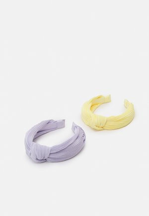 DIADEM KNOT HAIRBANDS 2 PACK - Hair styling accessory - light dusty lilac