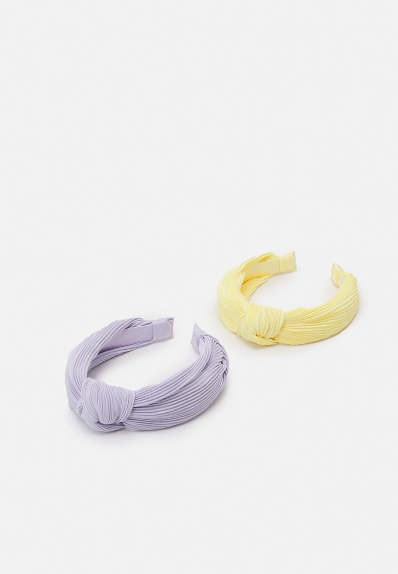 Lindex - DIADEM KNOT HAIRBANDS 2 PACK - Příslušenství kvlasovému stylingu - light dusty lilac