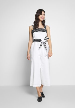 NACRE - Overall / Jumpsuit - white
