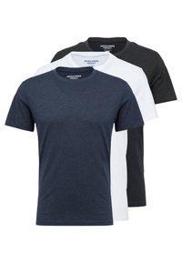 Jack & Jones - JORBASIC TEE CREW NECK 3-PACK  - T-shirt basique - white packed with tem - 0