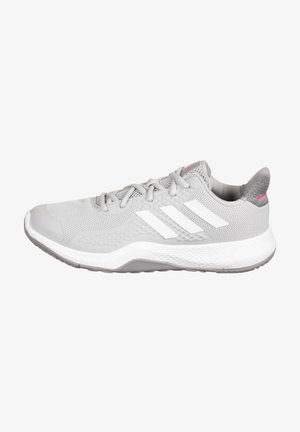 FITBOUNCE - Trainers - grey two / footwear white / power pink