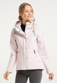 Schmuddelwedda - Waterproof jacket - hellrosa - 0