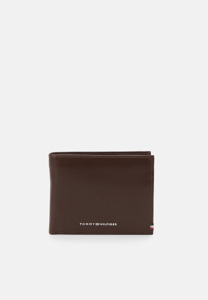Tommy Hilfiger - BUSINESS FLAP AND COIN - Portemonnee - black