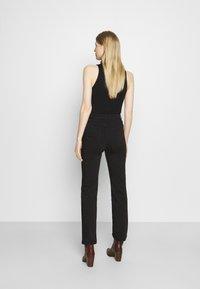 Marks & Spencer London - Džíny Slim Fit - black - 2