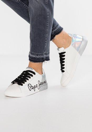 BROMPTON - Baskets basses - white