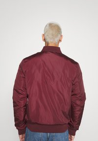 274 - BASEBALL JACKET - Giubbotto Bomber - burgundy - 2