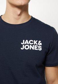 Jack & Jones - JACNIGHTWEAR GIFT SET - Pijama - navy blazer - 5