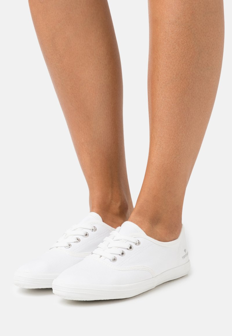 TOM TAILOR - Sneakers laag - white