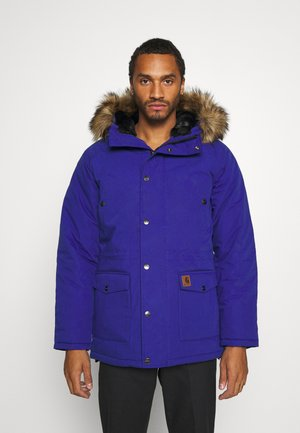 TRAPPER - Winter coat - thunder blue/black