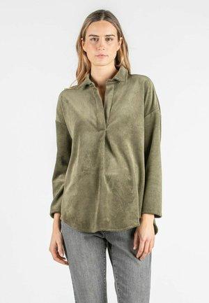 OLIVIA V - Long sleeved top - army green