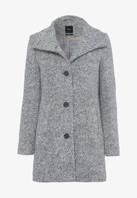 Short coat - silver grey-m