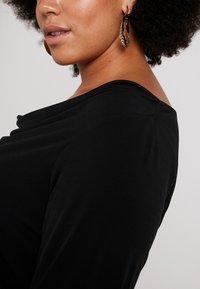 Dorothy Perkins Curve - COWL NECK - Topper langermet - black - 5