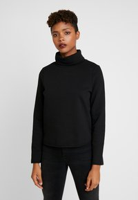 ONLY - ONLNEO COWLNECK - Sweatshirt - black - 0