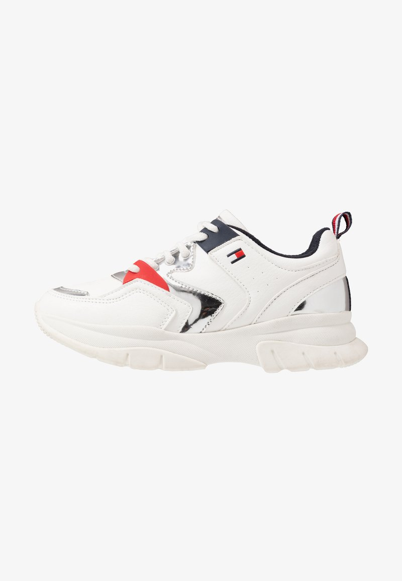 Tommy Hilfiger - Sneakers laag - white/silver