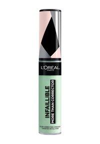 L'Oréal Paris - INFAILLIBLE MORE THAN CORRECTOR - Concealer - 01 green - 1