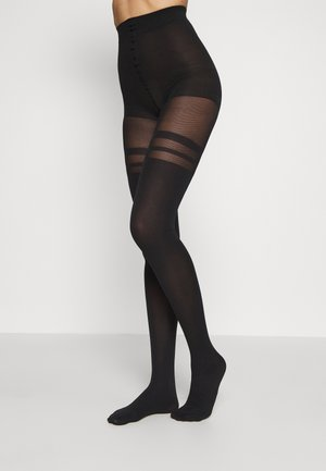 FISHNET - Collants - black