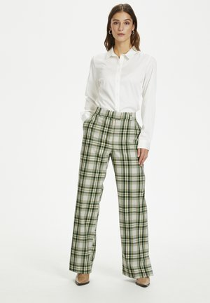 Trousers - celadon