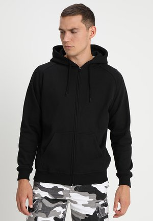 ZIP HOODY - Sweatjacke - black