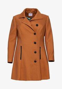 Sheego - Classic coat - cognac - 4