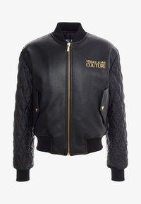 Versace Jeans Couture - GIUBBETTI UOMO - Bomberjacke - nero - 3