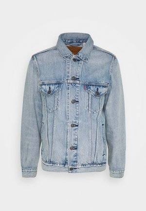 VINTAGE FIT TRUCKER UNISEX - Veste en jean - light indigo