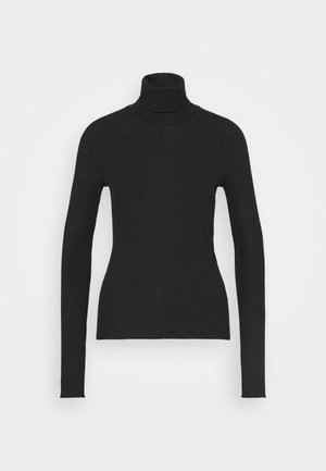 CAROL TURTLENECK - Topper langermet - black