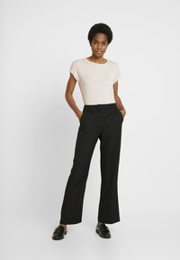 Vero Moda - VMAVA PLAIN - T-shirt basic - sepia rose - 1