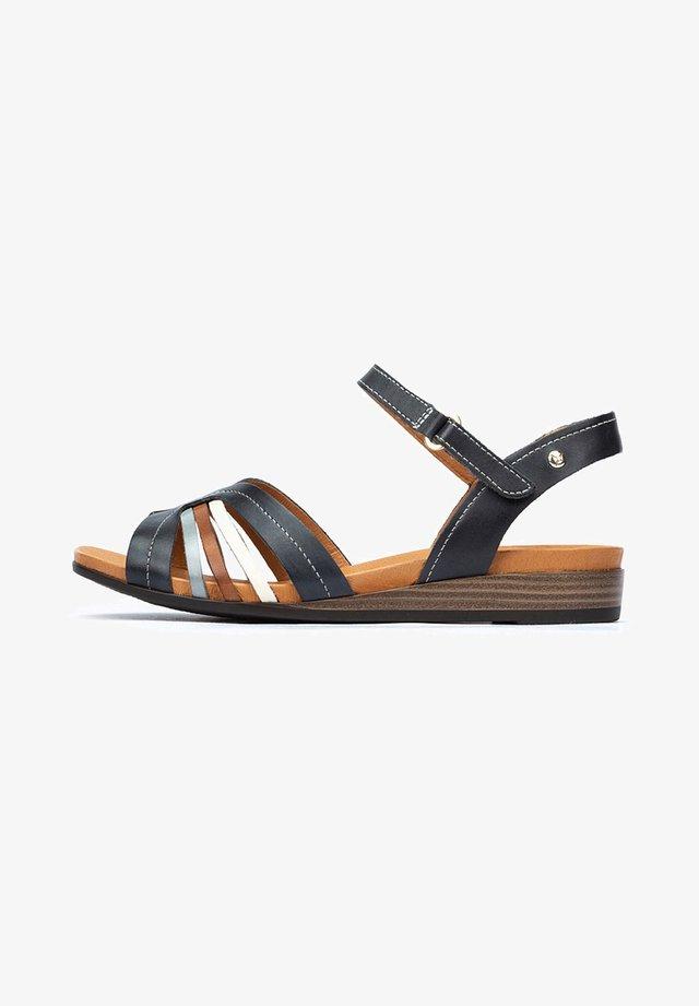 IBIZA  - Sandalen met sleehak - ocean