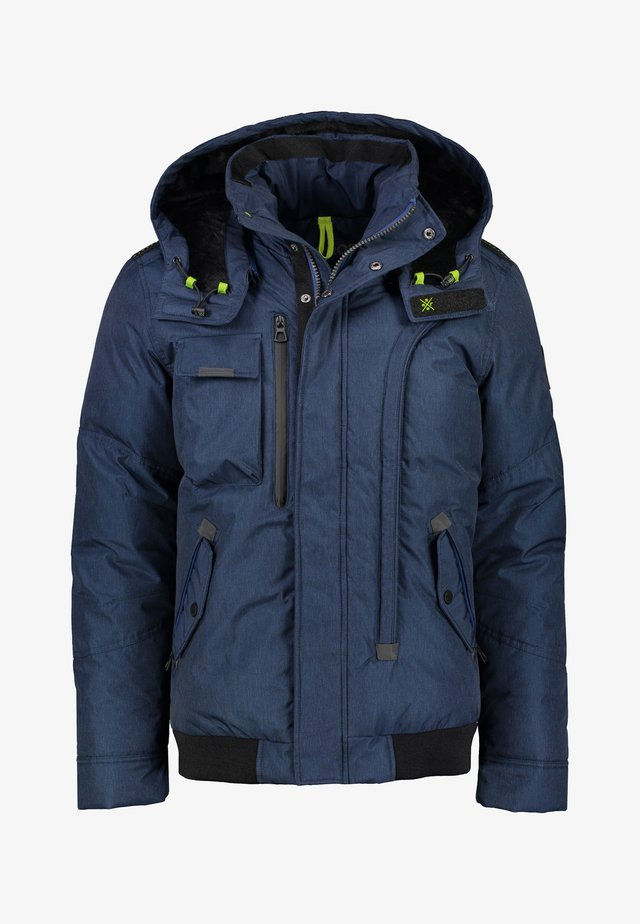 Winter jacket - mid blue